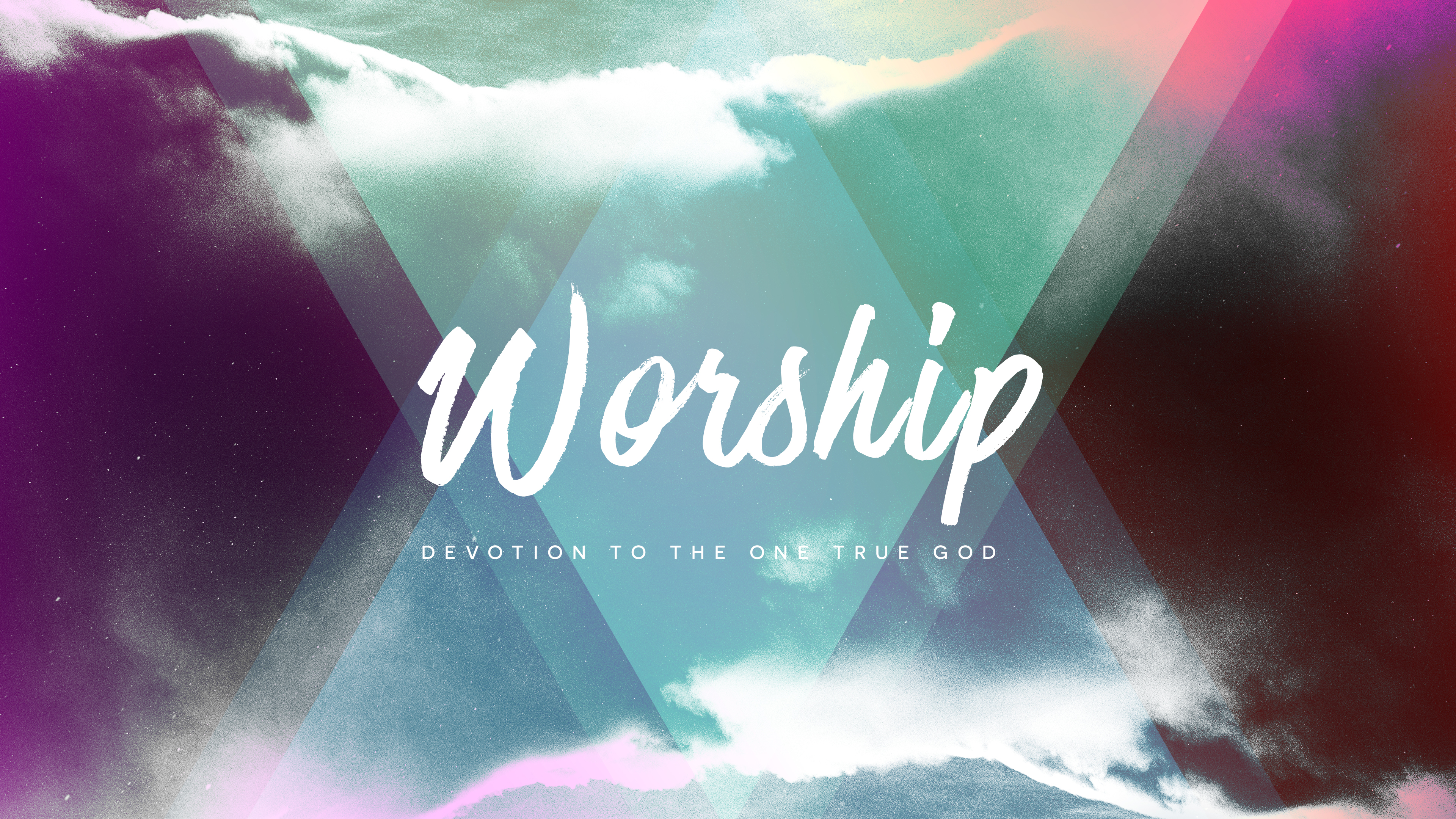 Worship is Adoration